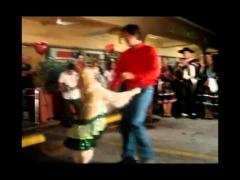 Собака танцует меренге
