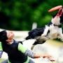 Подготовка владельца собаки к фрисби